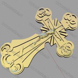3d модель православного креста